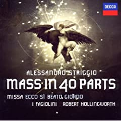 Striggio: Mass in 40 Parts: Robert Hollingworth, Alessandro Striggio