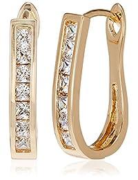SIA Art Jewellery Clip-On Earrings For Women (Gold) (AZ3276)