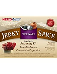 Nesco BJT-6 Jerky Spice Works, 6-Pack, Teriyaki Flavor by Nesco
