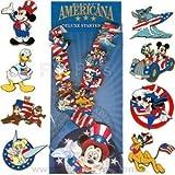 Disney Americana Deluxe Starter Set - Lanyard and 8 Pins 61631