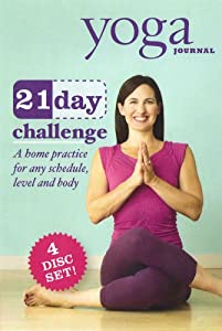 Yoga Journal: 21 Day Challenge Transform Your Body in 3 Weeks (4 Disc Set) (2011) Not Known (Actor), Yoga Journal (Director) | Rated: NR | Format: DVD