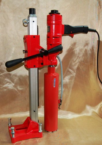 Learn More About BLUEROCK ® Tools 4 Concrete Core Drill Model 4 Z-1WS Coring Drill