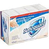 Safeguard 08833 Beige Antibacterial Bath Bar Soap, 4oz Bar (Pack of 48)