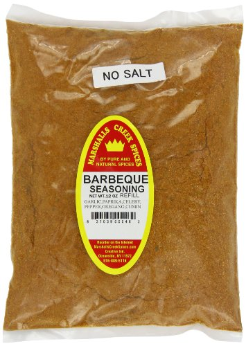 Marshalls Creek Spices Bbq Seasoning Refill, No Salt, 12 Ounce