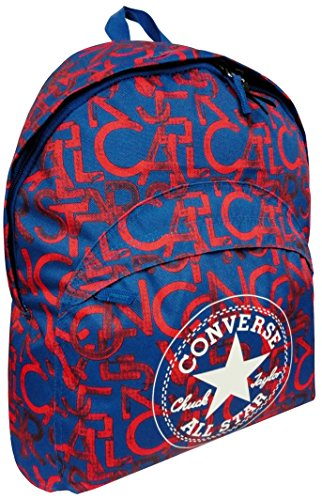 Zaino Americano Blu Rosso Pattern All Star Converse