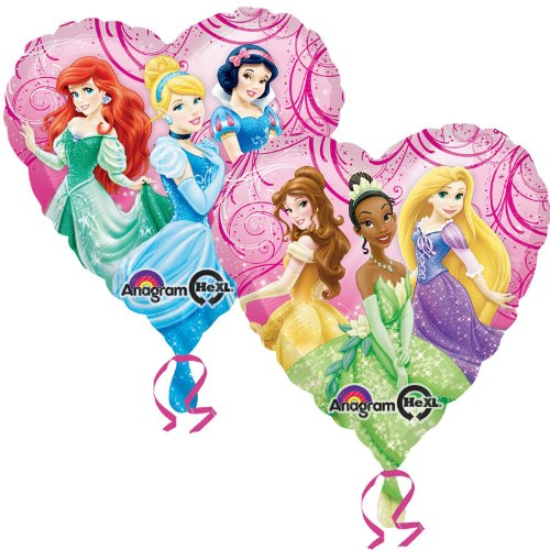 "Disney Princess Fairy-Tale Friends 17"" Foil Balloon"
