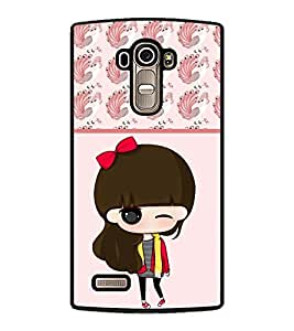 PRINTSWAG CARTOON GIRL Designer Back Cover Case for LG G4