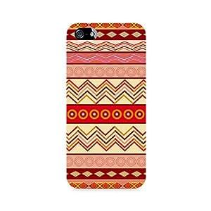 Rayite Tribal Chevron Premium Printed Case For Apple iPhone 4/4s
