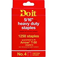 Do it Best Global Sourcing 314773 Do it No. 4 Staples-5/16
