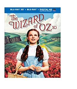 The Wizard of Oz: 75th Anniversary Edition (Blu-ray 3D / Blu-ray / UltraViolet) from Warner Home Video