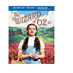 The Wizard of Oz: 75th Anniversary Edition (Blu-ray 3D / Blu-ray / UltraViolet)