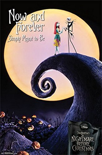 "Trends The Nightmare Before Christmas-Poster ora e Rare Forever 55,88 86,36 cm X 34 X (22"") acceso"