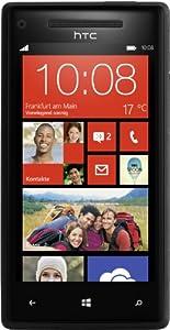 HTC 8x c620E 16GB Unlocked GSM Smartphone - No Warranty - Black - GSM: 850/900/1800/1900 MHz; HSPA/WCDMA: 850/900/1900/2100 MHz
