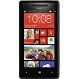 "HTC Windows Phone 8X Smartphone (10,9 cm (4,3 Zoll) Super LCD Touchscreen, 1,5 GHz Dual-Core-Prozessor, 1 GB RAM, 8 Megapixel Kamera, 16 GB interner Speicher, NFC-f�hig, Windows Phone 8 OS) schwarzvon ""HTC"""