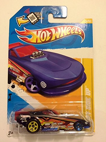 2012 Hot Wheels New model Funny Side Up 10/50 10/247 Scan & track