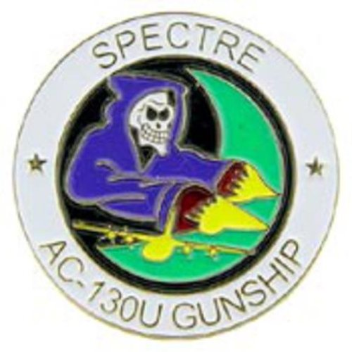 U.S. Air Force AC 130U Spectre Gunship Pin 1 Arts