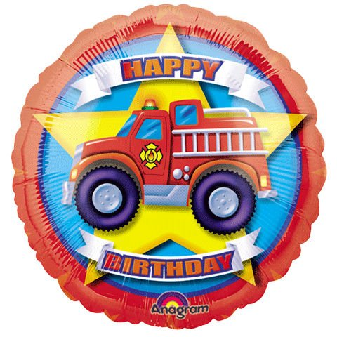 "18"" Rescue Team Birthday Balloon (1 ct) (1 per package)"