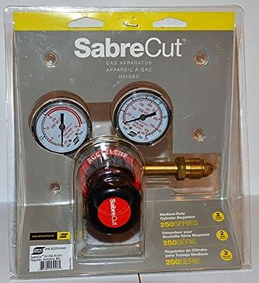 SabreCut Medium Duty Acetylene Gas Cylinder Regulator SC-250-15-510