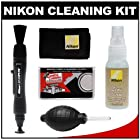 Nikon Cleaning Combo Kit: Nikon Lenspen + Anti-fog Cloth + Spray Bottle + Blower for D4S, D800, D610, D7100, D7000, D5300, D5200, D3300, D3200 Digital SLR Cameras & Lenses