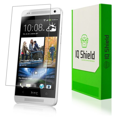 Iq Shield Liquidskin - Htc One Mini Screen Protector - High Definition (Hd) Ultra Clear Phone Smart Film - Premium Protective Screen Guard - Extremely Smooth / Self-Healing / Bubble-Free Shield - Kit Comes With Retail Packaging And 100% Lifetime Replaceme