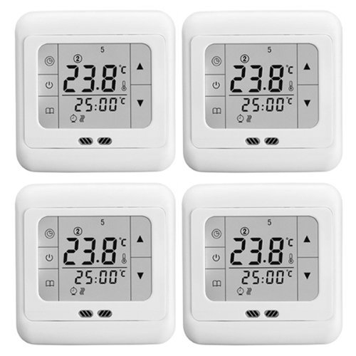 heimeier thermostat heizk rper raumthermostat digital eletrisch lcd touch display. Black Bedroom Furniture Sets. Home Design Ideas