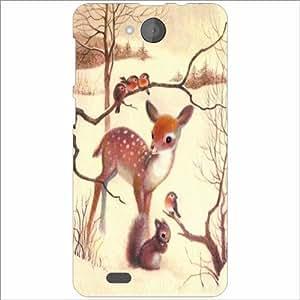 XOLO Prime Back Cover - Silicon Deer Designer Cases