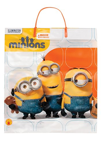 Rubie's Costume Co Yellow-Minion T/T Plastic Bag Costume