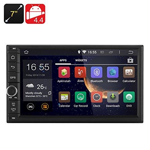 Autoradio DVD 7 pouces Android 4.4 - 2 DIN / 3G / Bluetooth / Wi-Fi / GPS / CPU RK3066 1.6GHz / 1Go de RAM*