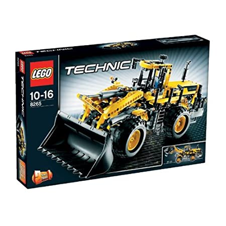 LEGO - 8265 - Jeu de construction - Technic - Le Bulldozer