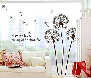 Stickers pissenlit Nature, Fleurs et