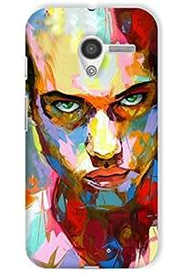 IndiaRangDe Hard Back Cover FOR Motorola Moto X