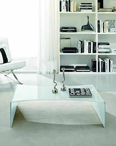 Zamagna - Tavolino da salotto Carving C1036 - Finitura: grigio tortora Ral 7044