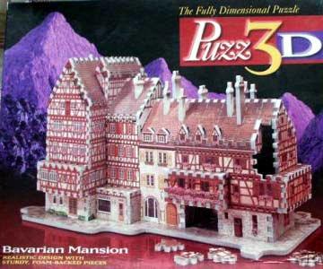Cheap Wrebbit Puzz 3D Bavarian Mansion Jigsaw Puzzle (B000OPN0VW)