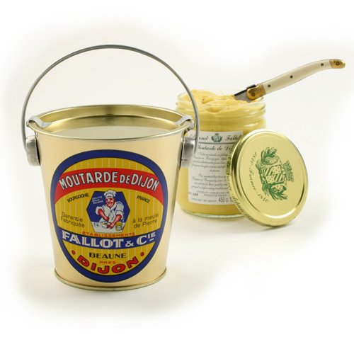 Edmond Fallot Dijon Mustard Gift Pail 16 ounceB0000TW3Q0