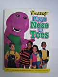 img - for Barney Plays Nose to Toes Board Book book / textbook / text book