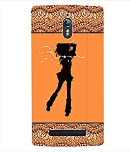 ColourCraft Girly Back Case Cover for OPPO FIND 7