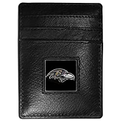 NFL Tennessee Titans Leather Money Clip/Cardholder Packaged in Gift Box