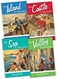 Enid Blyton Enid Blyton Adventure Series 4 Books Collection Pack Set RRP: 19.96 (The Island of Adventure, The Castle of Adventure, The Valley of Adventure, The Sea of Adventure)