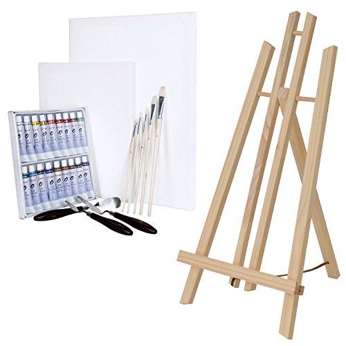 artina-chevalet-de-table-london-set-de-28-pieces-pour-peinture-a-lhuile