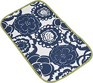 Ju-Ju-Be Memory Foam Changing Pad (Cobalt Blossoms)