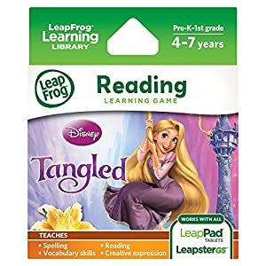 Leap Frog Tangled, the Disney story of Rapunzel