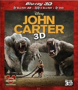 John Carter [Combo Blu-ray 3D + Blu-ray + DVD]