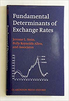 solutions for determinants of exchange rates The impact of the real exchange rate changes on export performance in tanzania and ethiopia kifle wondemu and david pottsa a university of bradford african development bank group.