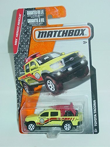 matchbox-mbx-heroic-rescue-75-120-yellow-toyota-tacoma-beach-patrol-164-scale-collectible-die-cast-m