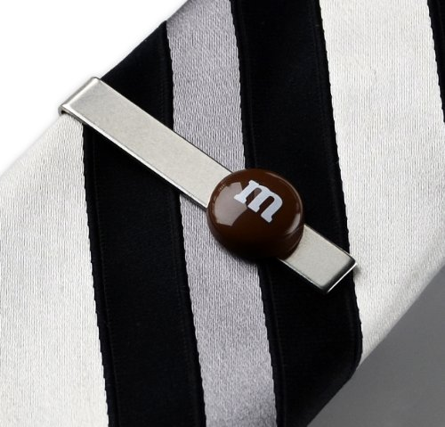 Chocolate Candy Tie Clip, Bridal Gift, Party Favors, Guy Gifts, Gift Box Included