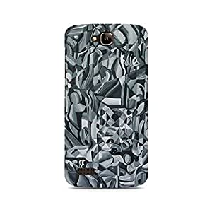 Ebby Abstract Texture Premium Printed Case For Huawei Honor Holly
