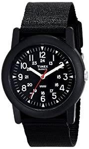 Timex Men's T18581 Camper Watch (Black)