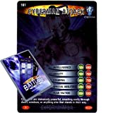 Doctor Who - Single Card : Exterminator 181 Cyberman attacking Dr Who Battles in Time Rare Card