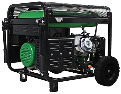 Tillotson Portable Generator 7500 Dual Fuel with Wheel Kit