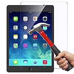 iPad Mini 1 / 2 / 3 Glass Screen Protector, OuTera 0.26mm 9H Tempered Glass Screen Protector for iPad Mini 1 / iPad Mini 2 / iPad Mini 3 New Apple iPad Mini with Retina display